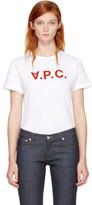 A.P.C. White v.p.c. T-shirt