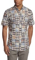 Eddie Bauer Men's 12301573 Regular Fit Button Down Short Sleeve Casual Shirt