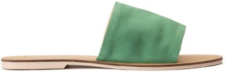 La Redoute Collections Suede Flat Sandals