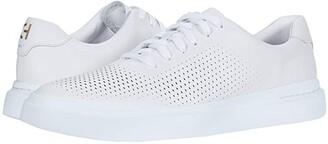 Cole Haan Grandpro Rally Laser Cut (White) Men's Shoes