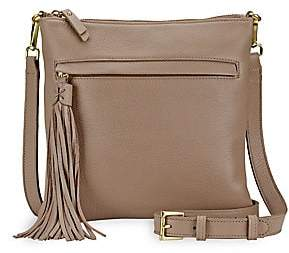 GiGi New York Women's Scout Leather Crossbody