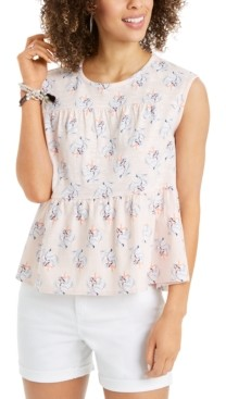 Style&Co. Style & Co Tiered Blouse, Created for Macy's