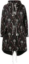 Creatures of the Wind printed nylon parka - women - Nylon - 4