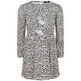 Relish RelishGirls White & Pink Heart Print Dress