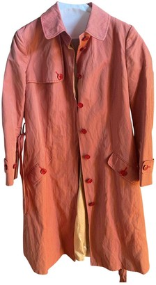 Moschino Cheap & Chic Moschino Cheap And Chic Red Trench Coat for Women
