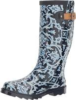 Chooka Women's Waterproof Printed Tall Rain Boot