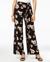 J.o.a. Floral-Print Wide-Leg Pants