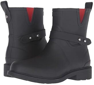 Rag & Bone Moto Rain Boot (Black) Women's Rain Boots