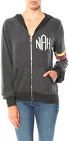 Wildfox Couture Nah Sports Malibu Zip Up Sweatshirt
