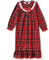 Komar Kids 7-16 Christmas Plaid Nightgown