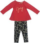 Juicy Couture Graphic Top & Leggings Set - Size 6-9m