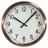 Threshold Wall Clock Copper 10
