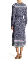 Thumbnail for your product : C&C California Eva Tassel Trimmed Split Neck Maxi Dress