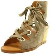 Dolce Vita Lei Women Open Toe Suede Wedge Sandal.