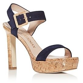 Stuart Weitzman Women's Alesha Platform High-Heel Sandals