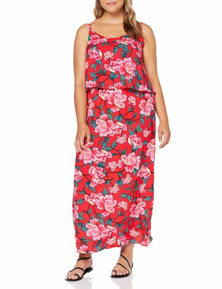 Simply Be Women's Ladies Layered Maxi Dress