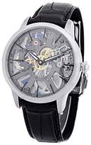 """Maurice Lacroix Masterpiece Skeleton"""" Stainless Steel Strap Watch"""