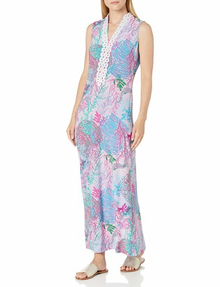 Pappagallo Women's Collar Maxi Dress