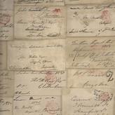 Andrew Martin Love Letter Wallpaper - Parchment
