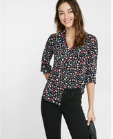 Express original fit heart print portofino shirt
