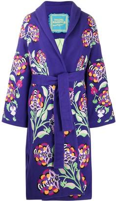 Yuliya Magdych Floral Embroidered Kimono