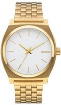 Nixon Women's 'Time Teller' Quartz Metal and Stainless Steel Automatic Watch, Color:Gold-Toned (Model: A045508-00)
