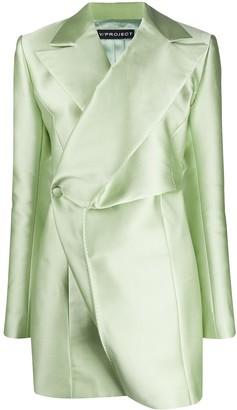 Y/Project Long Sleeve Blazer Dress