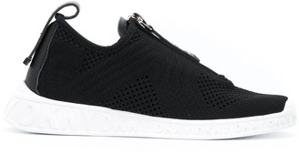DKNY Melissa knitted low-top sneakers