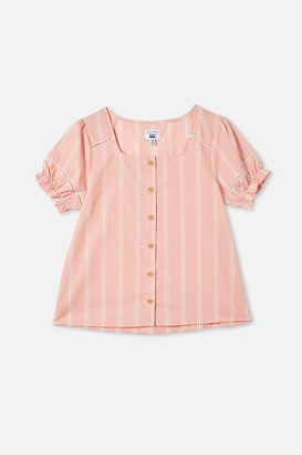 Cotton On Pippa Puff Sleeve Top