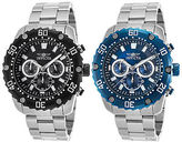 Invicta Men's Pro Diver Chronograph Stainless Steel with Colored Dial