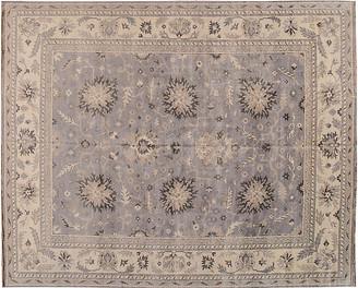 12'x15' Ayoub Hand-Knotted Rug - Lavender - Apadana Fine Rugs - lavender/beige