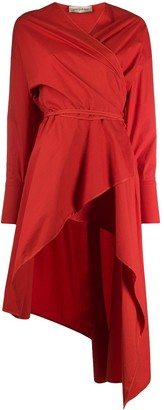 Gentry Portofino Asymmetric Wrap Dress