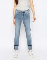 Weekday Tuesday Mid Rise Slim Leg Jeans