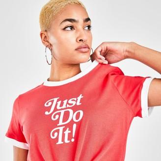 Nike Women's Sportswear Retro Femme Ringer T-Shirt