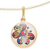 Alex and Ani Butterfly Art Infusion Necklace Charm