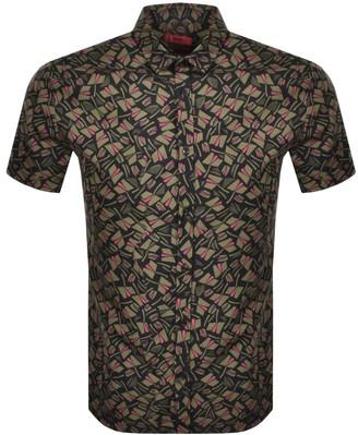 HUGO BOSS Empson Short Sleeve Shirt Green