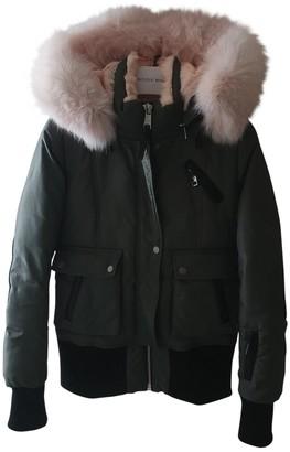Nicole Benisti Khaki Fox Coat for Women