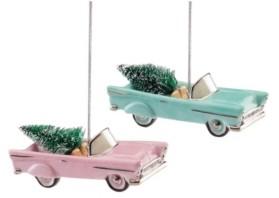 Lenox Retro Car 2-Piece Ornament Set