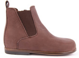 Little Mary Aron Leather Chelsea Boots with Zip Brown