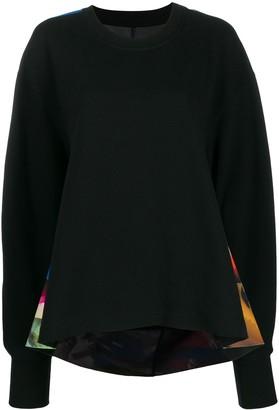 Maison Margiela graphic print jumper