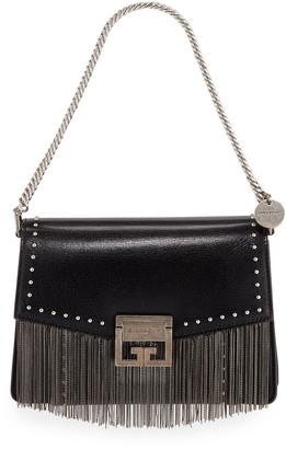 Givenchy GV3 Small Fringed Leather Crossbody Bag