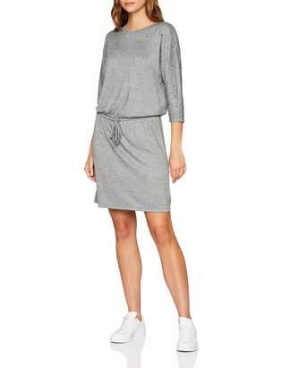 Tom Tailor Women's Feminines Sweatkleid Mit Tunnelzug Und Tollen Perlen Am Ausschnitt Dress