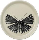 DAY Birger et Mikkelsen Moth Plate - Ivory With Black Moth