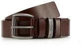 Ben Sherman Brown Cut To Fit Leather Belt In A Gift Box
