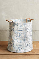 Anthropologie Watercolor Hamper Tote