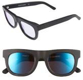 Westward Leaning Women's Pharaoh 49Mm Sunglasses - Black Matte/ Blue