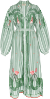Temperley London Trelliage Shirt Dress