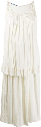 Prada Tiered Front Dress