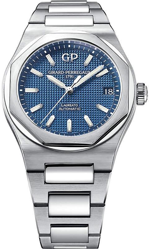 Girard Perregaux Girard-Perregaux 81010-11-431-11A Laureato stainless steel watch