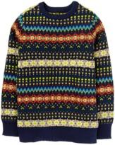 Crazy 8 Fair Isle Sweater